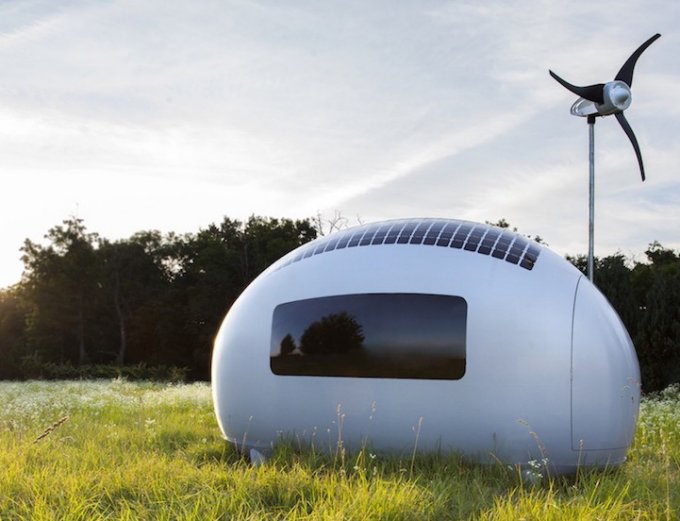 Off Grid Pod Lets You Live Anywhere In The World Off