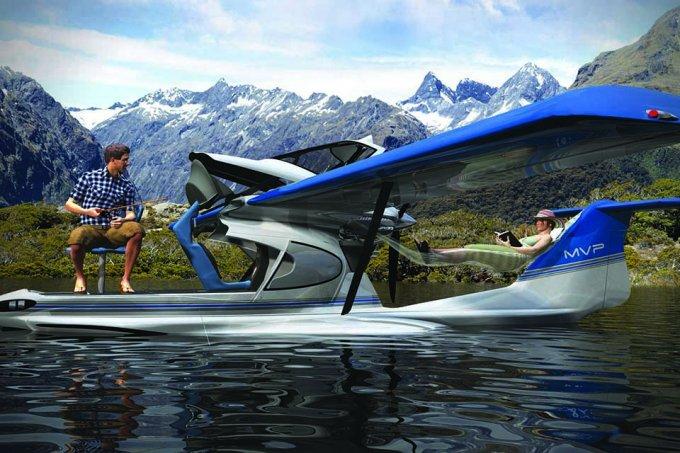 Seaplane camper