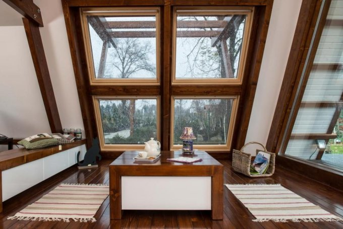 Off grid zero energy home interior