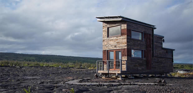 Off grid cabin in Hawaii