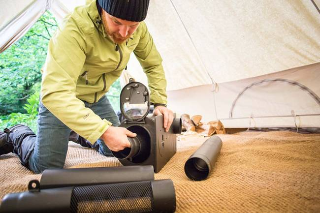 Portable woodstove