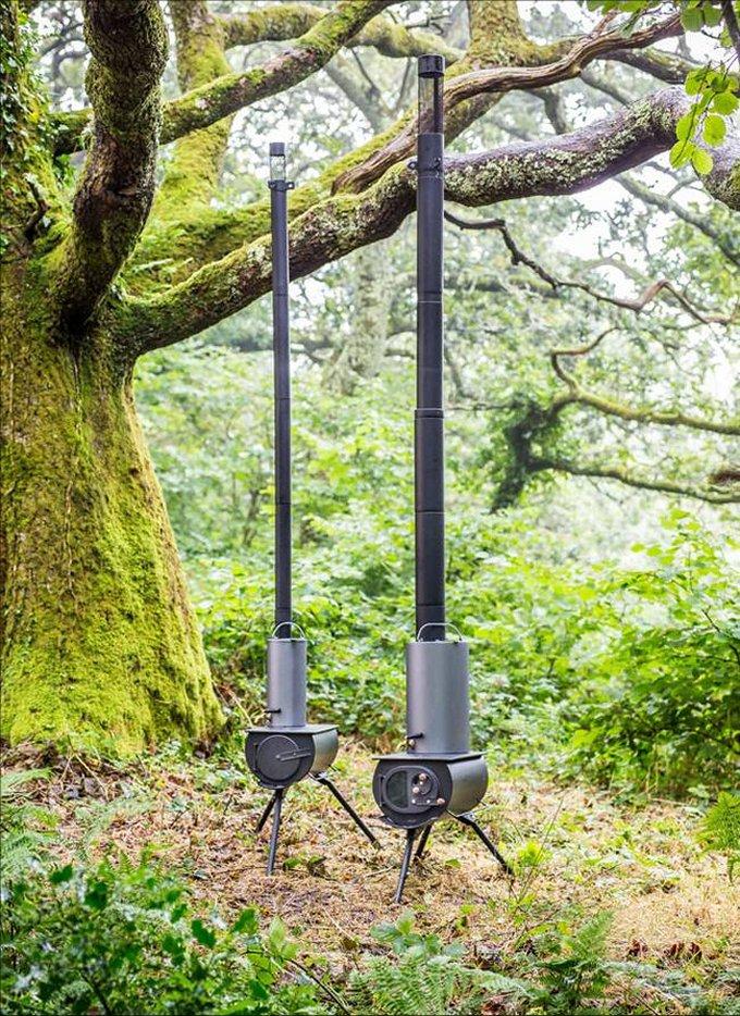 Portable woodstove