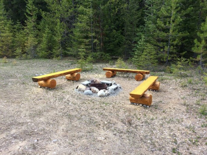 Mountain RV firepit