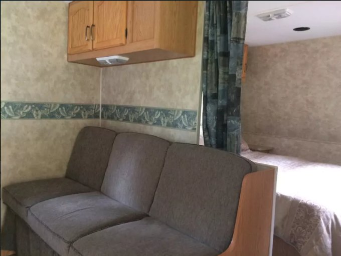 Mountain RV interior