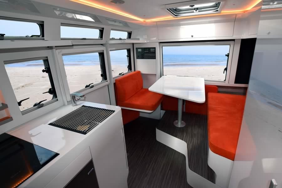 New camper design interior