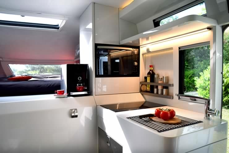 New camper design interior