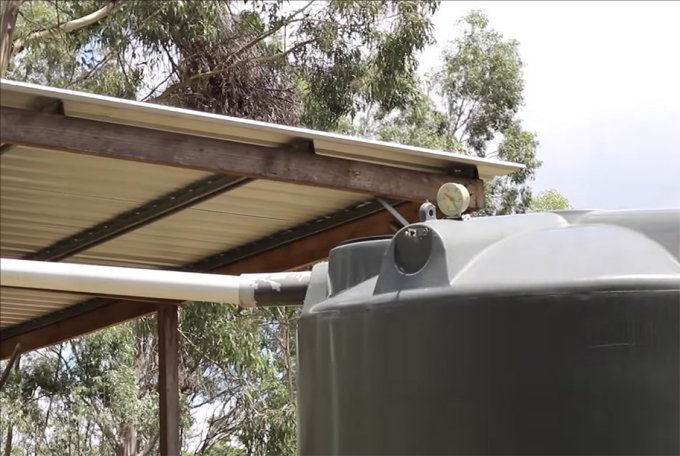 Off grid water collection