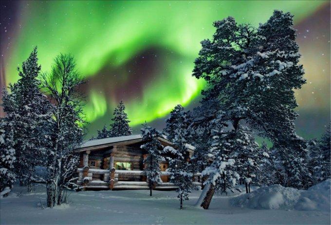 Arctic resort in Finland