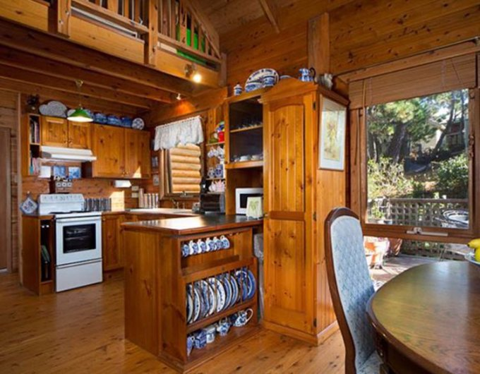Dream cabin interior