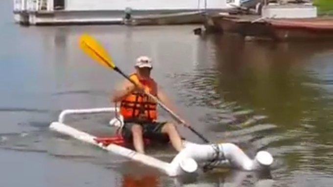PVC boat Kayak