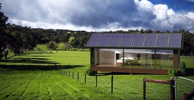Off grid smart home
