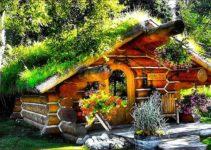 Unique cozy cabin