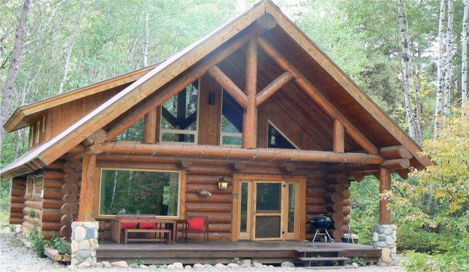 Log cabin in WA