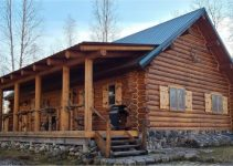 Handcrafted log cabin