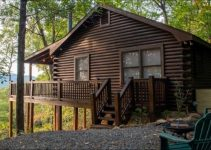 Log cabin in GA